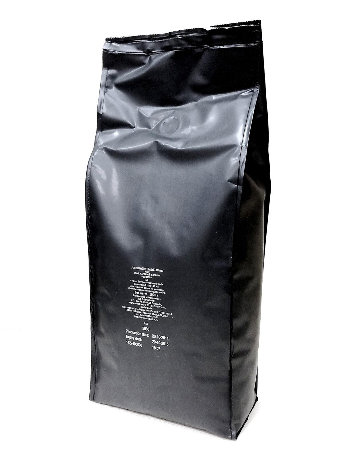Кофе в зернах «Budjet»(код 5030)