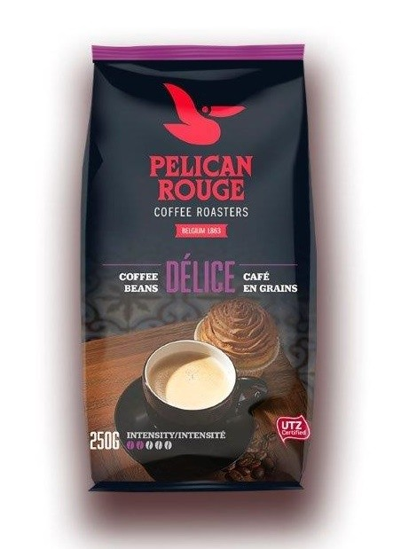 Кофе в зернах PELICAN ROUGE «DELICE» (А-100) UTZ 250г