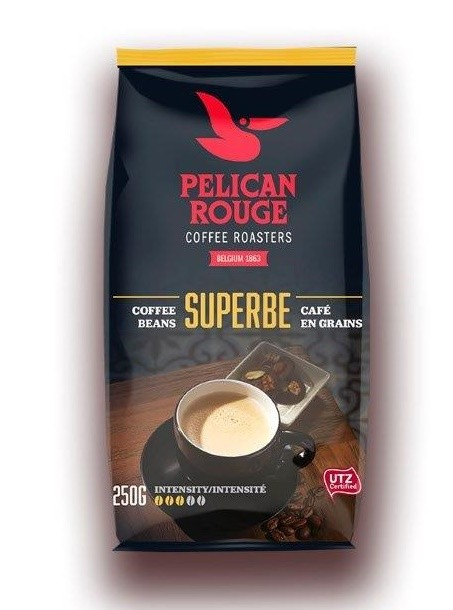 Кофе в зернах PELICAN ROUGE «SUPERBE» (А-80) UTZ 250г