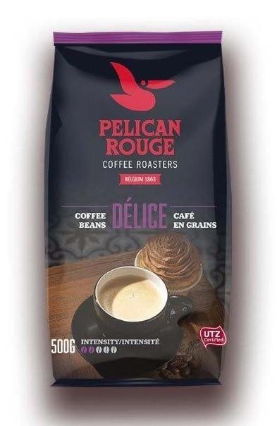 Кофе в зернах PELICAN ROUGE «DELICE» (А-100) UTZ 500г