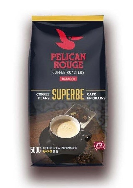Кофе в зернах PELICAN ROUGE «SUPERBE» (А-80) UTZ 500г