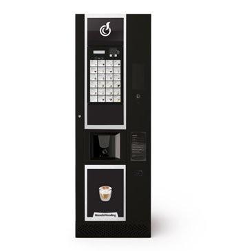 Кофейный автомат Bianchi LEI 600 1 ES 6 SB SMART 62х183(зерн.кофе+6 растворимых)