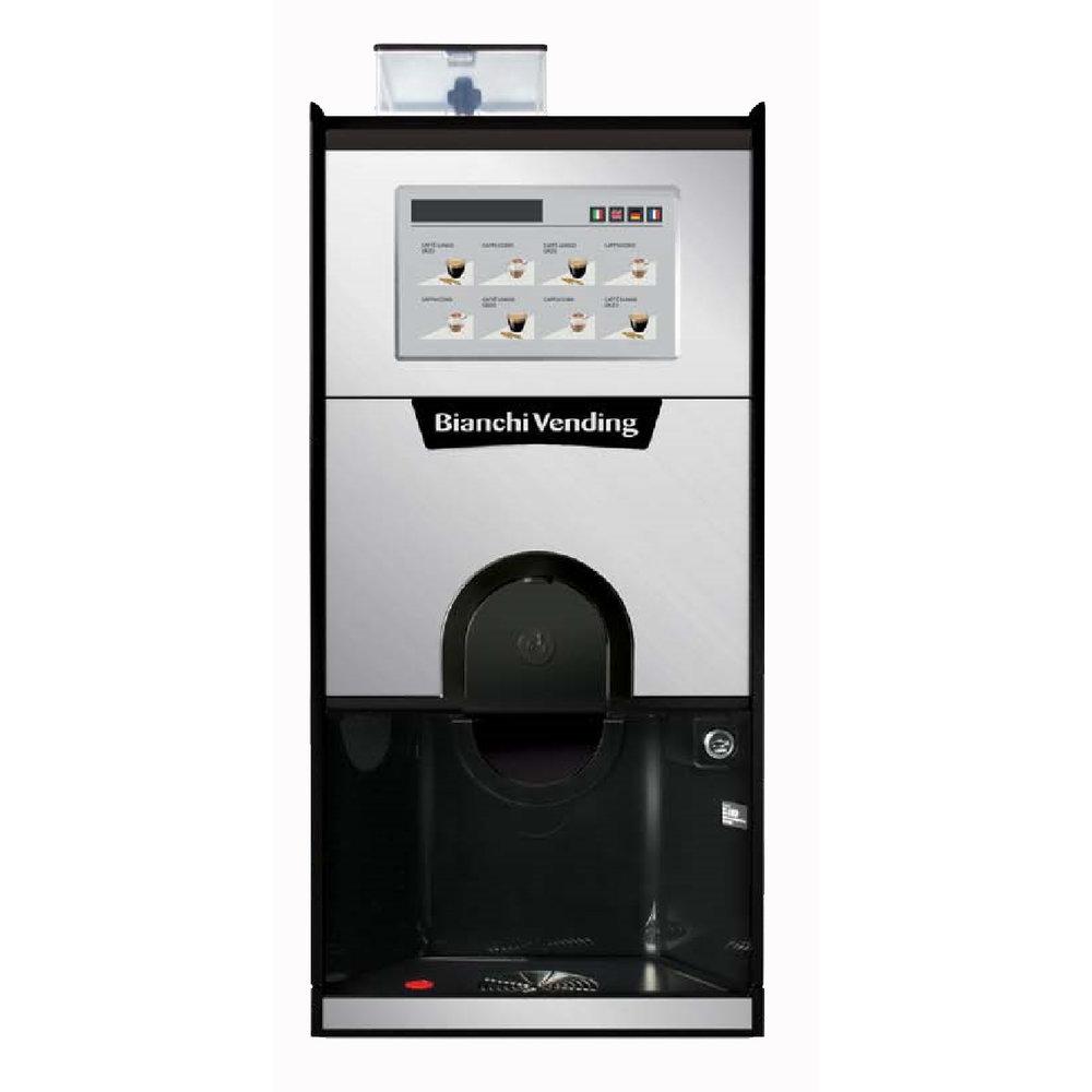 Супер — автомат Bianchi GAIA TOUCH ES3 (зерновой кофе+2 канистры,2 бойлера -HoReCa)