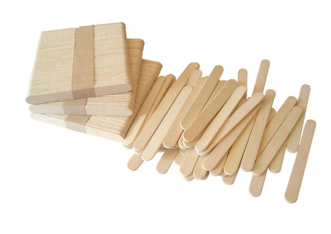 Деревянные палочки 105 мм для вендинга кассетированная